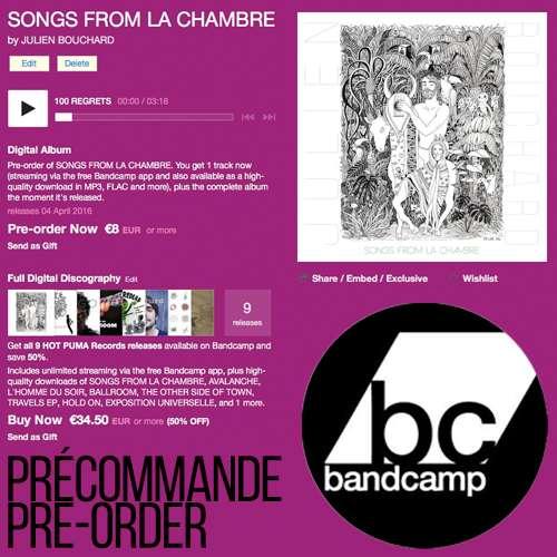 Bandcamp pre-order   Hot Puma Records